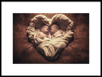 Art print titled Twins by the artist Jose Garcia