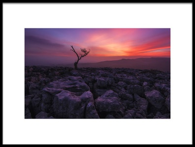 Buy this art print titled Twisleton Scar Glow by the artist Therion