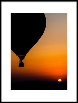 Buy this art print titled Two Balloons by the artist Tomer Eliash