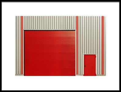 Art print titled Two Doors by the artist Jutta Kerber