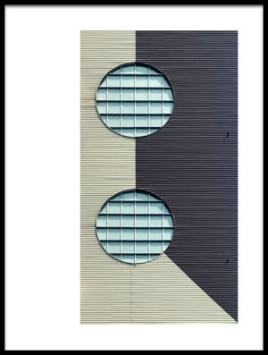 Buy this art print titled Two Eyes by the artist Jef Van den Houte