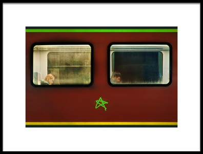 Buy this art print titled Two Stories by the artist Samir Pajić