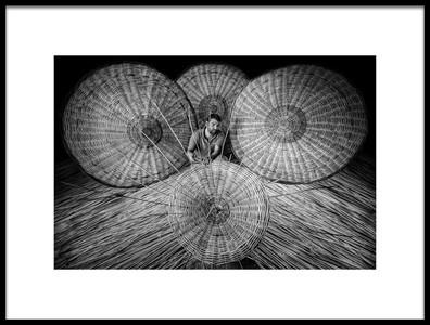 Art print titled Umbrella by the artist Yasemin Bakan