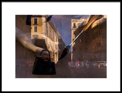Art print titled Un Dipinto Di Strada by the artist Mercurio Antonio