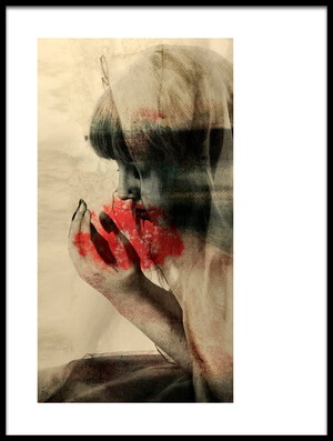 Buy this art print titled Uncomfortable Tale by the artist Olga Mest