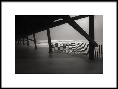 Art print titled Under the Boardwalk by the artist Errick Cameron