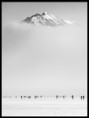 Buy this art print titled Under the Mountain by the artist Ales Krivec