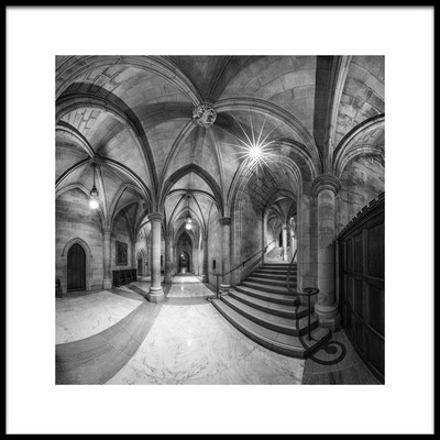 Art print titled Undercroft by the artist Christopher Budny