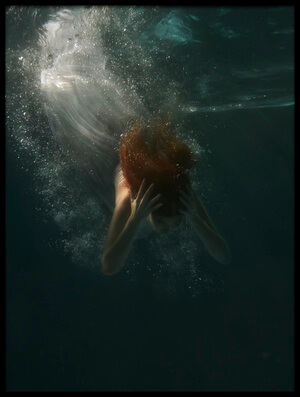 Buy this art print titled Underwater by the artist Borja Lopez Ferrer
