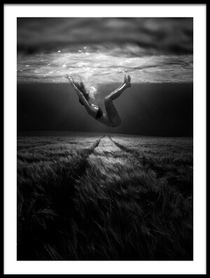 Buy this art print titled Underwaterlandream by the artist Peter Majkut