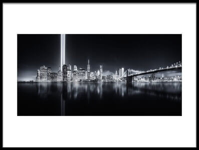 Buy this art print titled Unforgettable 9-11 by the artist Javier de la Torre