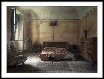 Buy this art print titled Bedroom Decay by the artist Martin Widlund