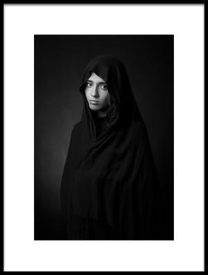 Art print titled Untitled No. 2238 by the artist Mehdi Mokhtari