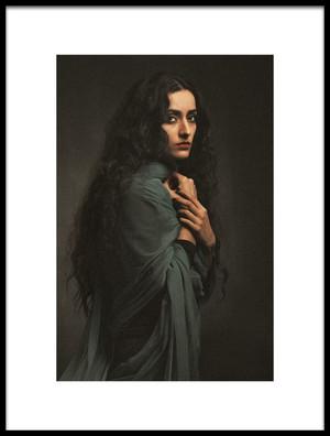 Art print titled Untitled No. 2653 by the artist Mehdi Mokhtari