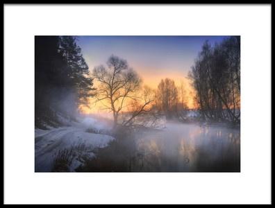 Art print titled Untitled No. 3114 by the artist Sergei Shabunevich