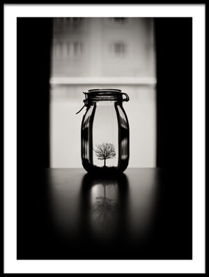 Art print titled Untitled No. 316 by the artist Melih ERSAHiN