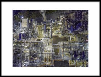 Art print titled Untitled No. 4418 by the artist Kobayashi Tetsurou