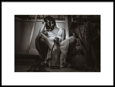 Art print titled Untitled No. 4530 by the artist Marco Tjokrosantoso
