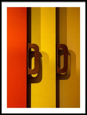 Art print titled Untitled No. 468 by the artist Inge Schuster
