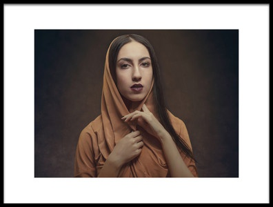 Art print titled Untitled No. 5241 by the artist Ramin Amani
