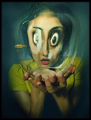 Buy this art print titled Untitled No. 6324 by the artist Inga Ivanova