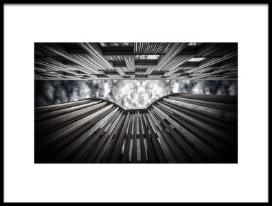 Art print titled Upward by the artist Anders Samuelsson