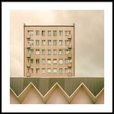 Buy this art print titled Urban Architectur by the artist Klaus Lenzen