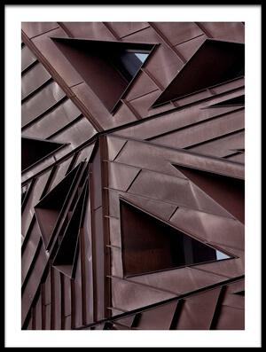 Art print titled Urban Asymmetry by the artist Yvette Depaepe