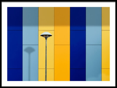 Art print titled Urban Colors by the artist Alfonso Novillo