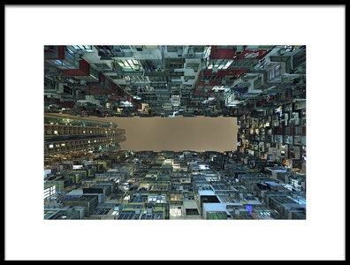 Buy this art print titled Urban Density by the artist Greg Metro