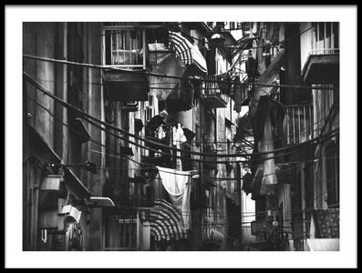 Buy this art print titled Urban Laundry by the artist Antonio Grambone