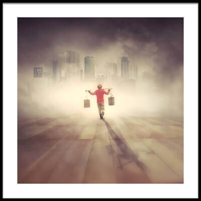 Art print titled Urban Legend by the artist hardibudi