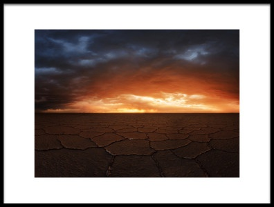 Art print titled Uyuni by the artist Rostovskiy Anton