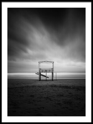 Art print titled Vacant Beach by the artist Massimo Della Latta