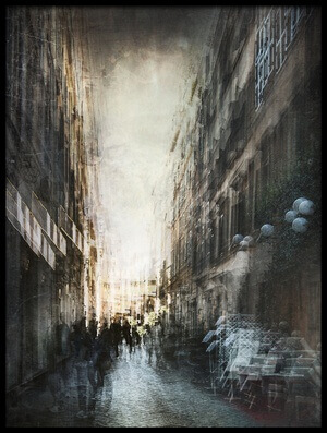 Buy this art print titled Vague Street by the artist Antonio Grambone