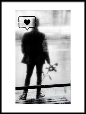 Art print titled Valentine by the artist Evelin Dobrev