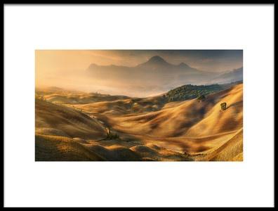 Buy this art print titled Valley by the artist Krzysztof Browko