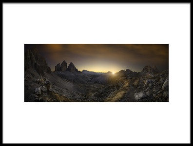 Buy this art print titled Valley of History by the artist Marco Bruna