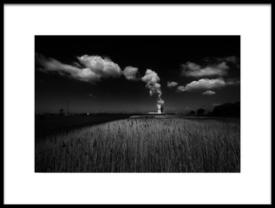Art print titled Vapour and Clouds by the artist Jef Flour