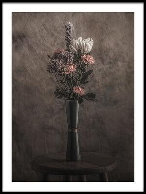 Art print titled Vase and Flowers by the artist Nobuhiro Ishida