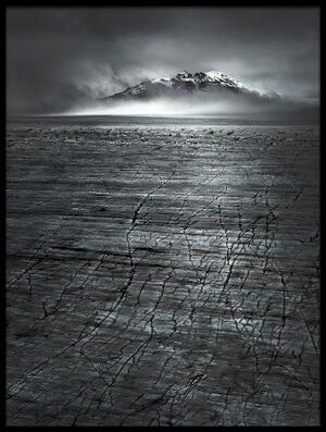 Art print titled Vatnajokull Ice Cap by the artist Jianyi Wu