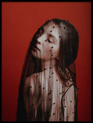 Buy this art print titled Veil by the artist Artem Vasilenko