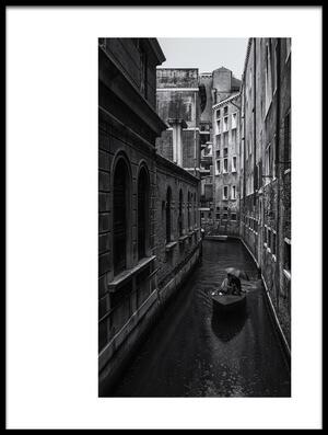 Art print titled Venice by the artist Pawel Majewski