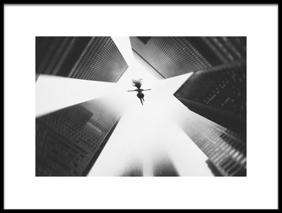 Art print titled Vertigo by the artist Pristine Clothes