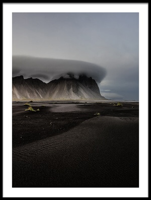 Buy this art print titled Vestrahorn by the artist Ronny Olsson