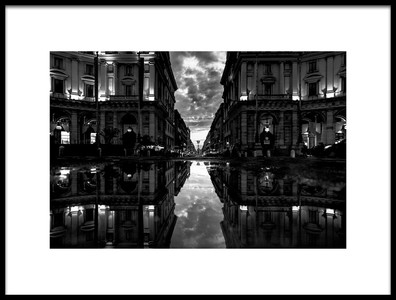 Buy this art print titled Via Nazionale by the artist Stefano Avolio