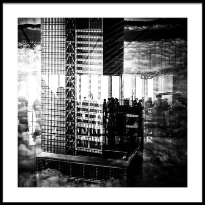 Art print titled View by the artist Kumiko Nakata