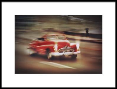 Art print titled Vintage Car,Havana Fantasy by the artist Svetlin Yosifov
