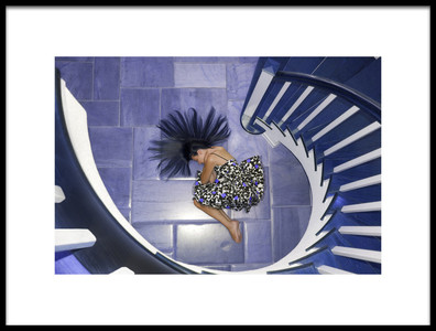 Buy this art print titled Violet by the artist Hans Repelnig