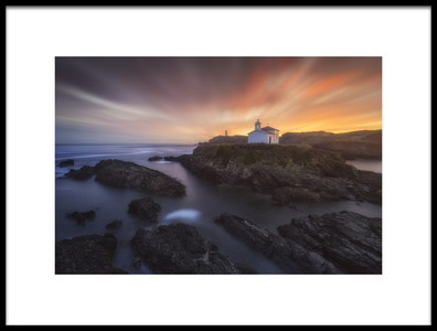 Art print titled Virxe Do Porto II by the artist Carlos F. Turienzo